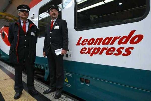 Поезд Leonardo Express