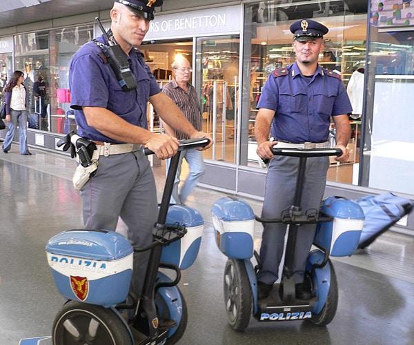 Полиция на вокзале Термини