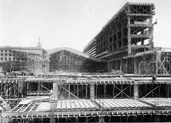 Реконструкция вокзала Термини в Риме