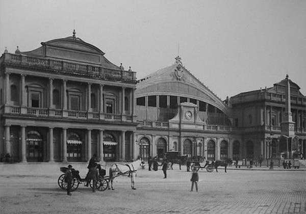 Старый вокзал Термини в Риме