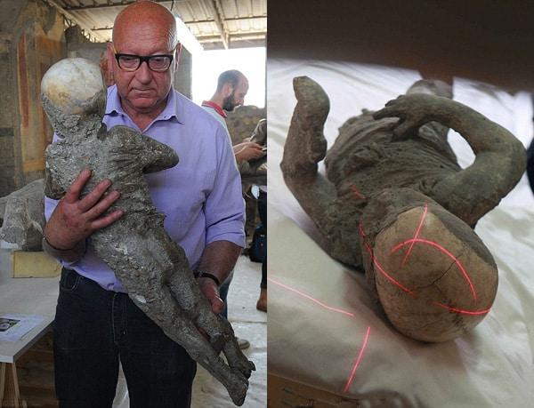 Помпеи: изучение останков