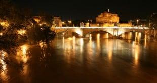 Река Тибр Рим