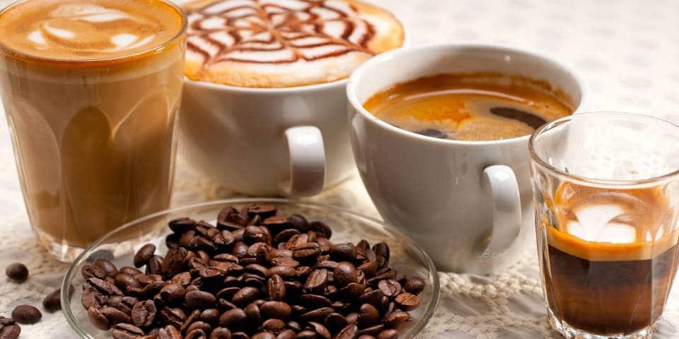 Виды итальянского кофе