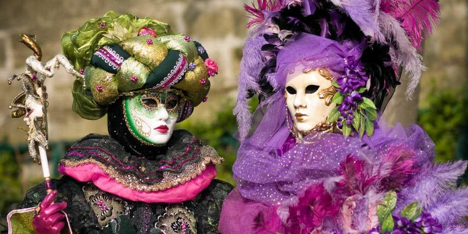 Истоия венецианской маски