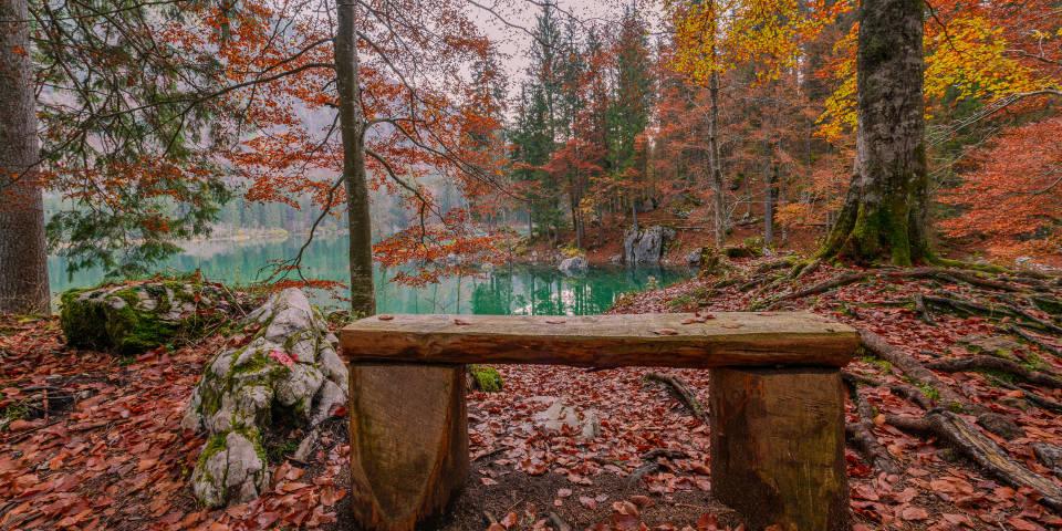 Осенняя Италия озеро Фузине