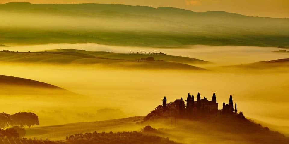 Горы в Тоскане