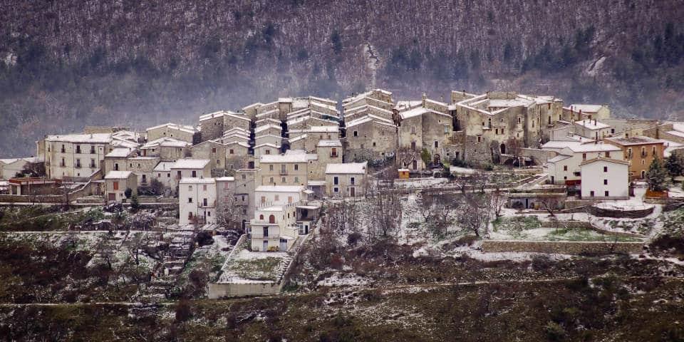 Горная деревня в Абруццо