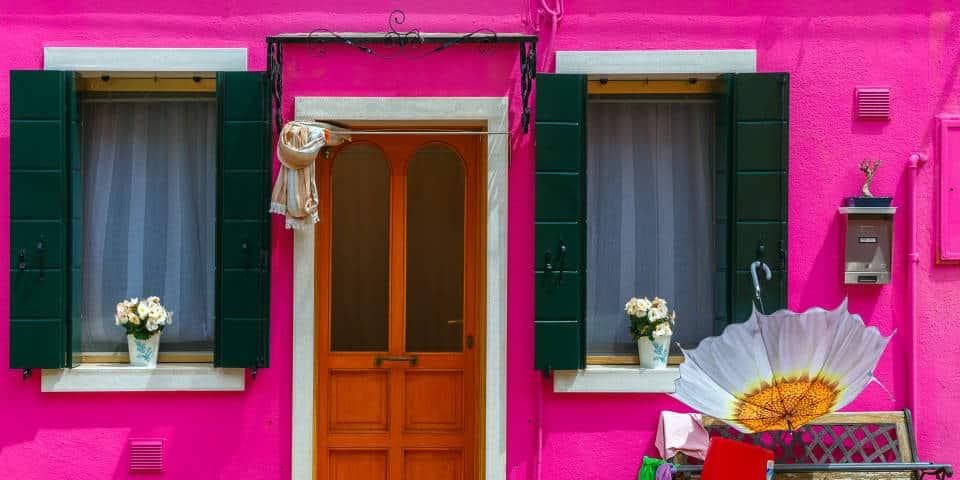 Яркие дома Бурано