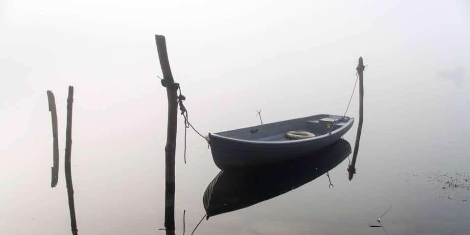 Лодки на озере Комо