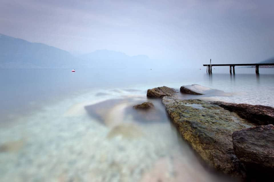Озеро Гарда на севере Италии
