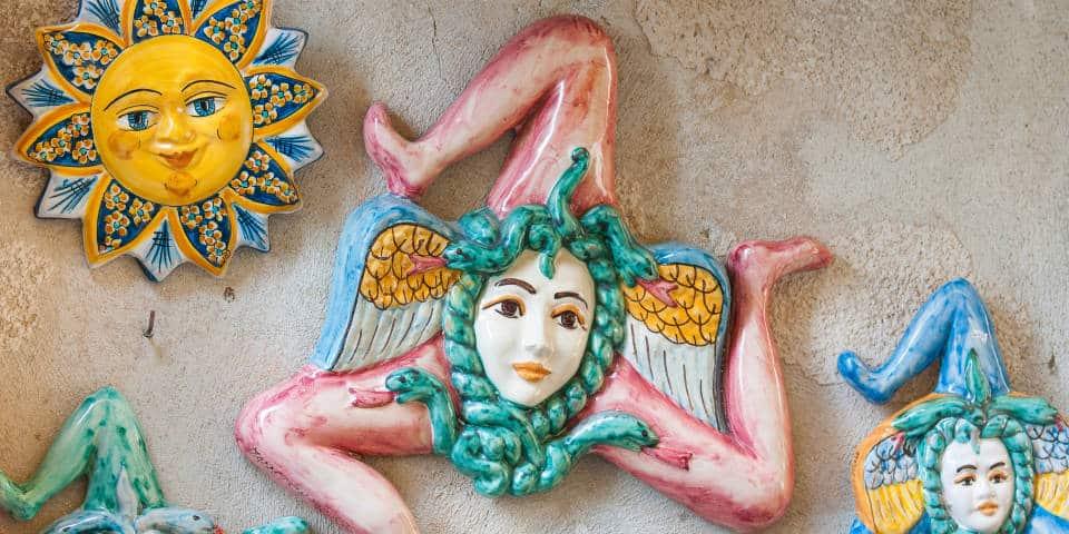 Сувениры с Сицилии