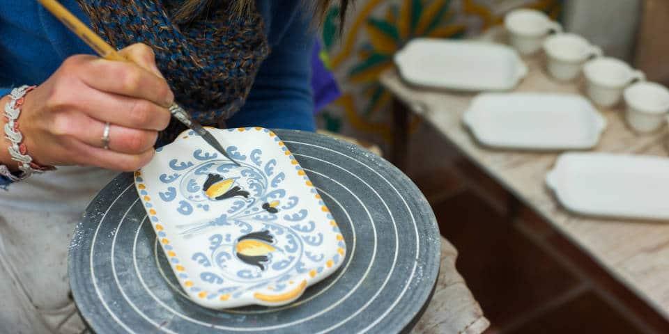 Роспись сицилийской посуды