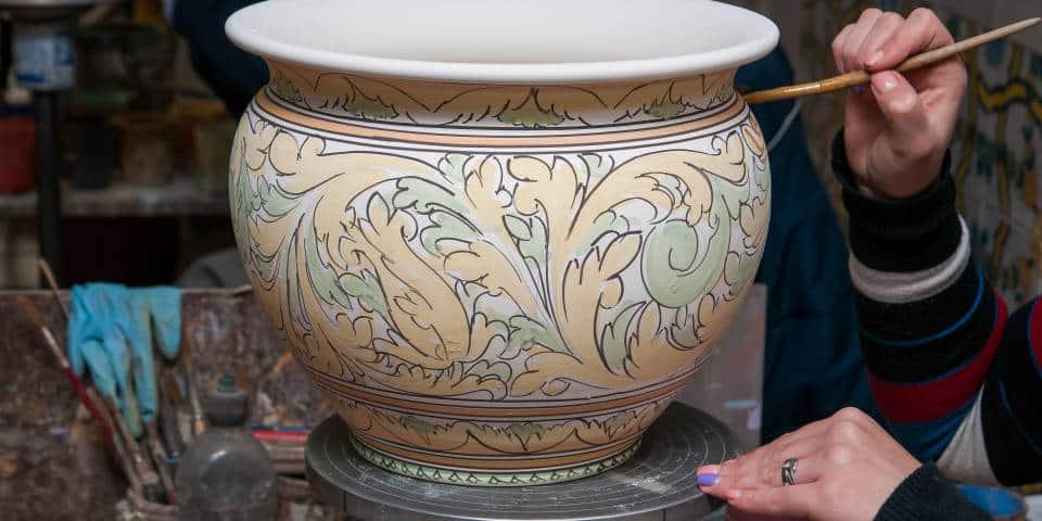 Керамика из Сиции ручно работы