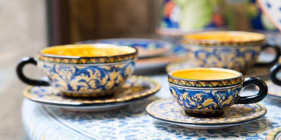 Сицилийские чашки