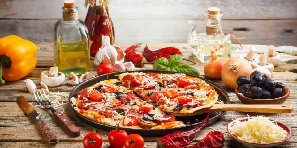 Домашняя итальянская пицца