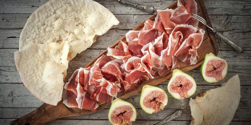 Итальянское мясо прошутто