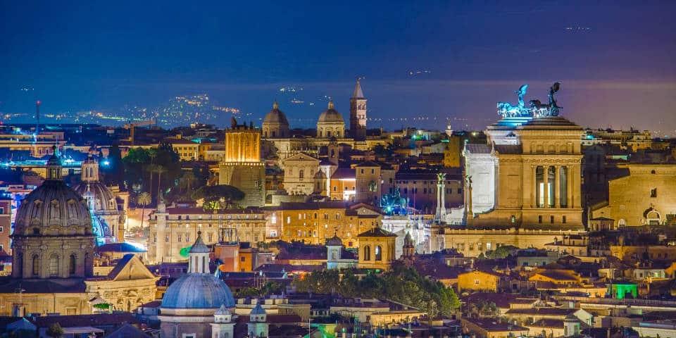 Панорама ночного Рима