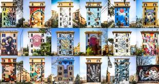 уличный стрит-арт в Риме