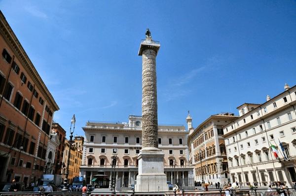 Колонны Рима - Колонна Марка Аврелия
