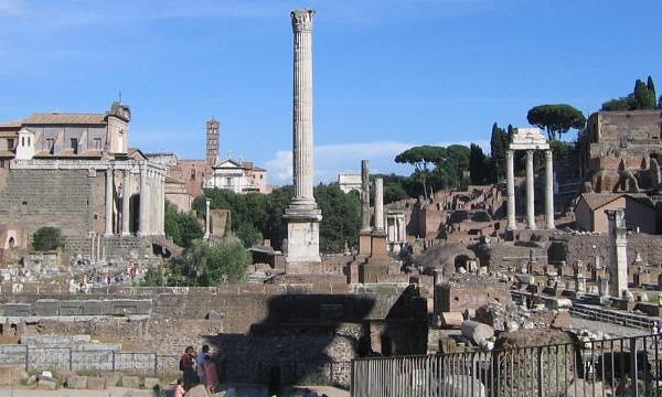 Колонны Рима - Колонна Фоки