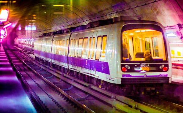 Работа метро в Милане - Сиреневая линия