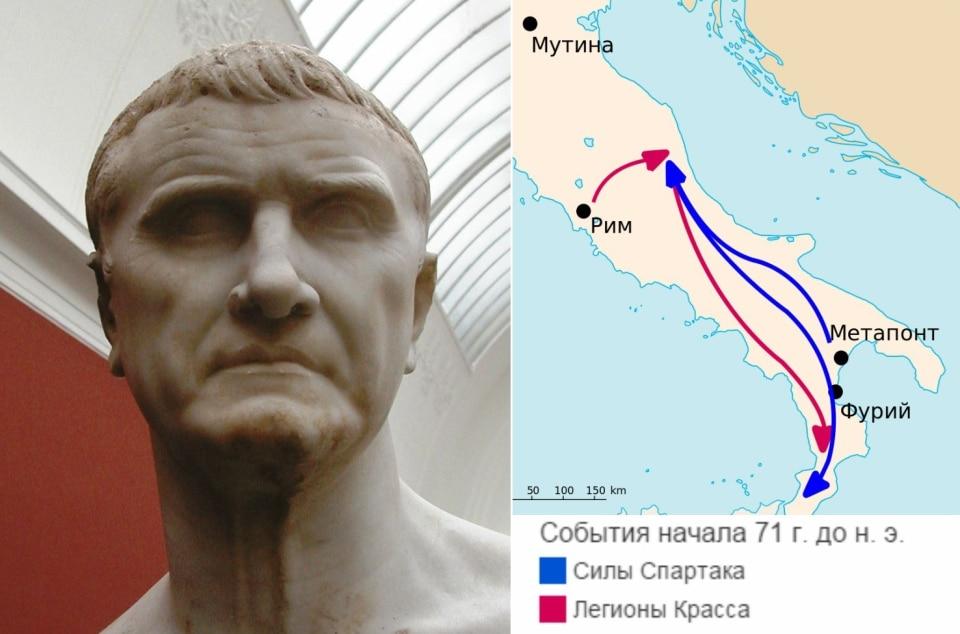 Восстание Спартака и легионы Красса