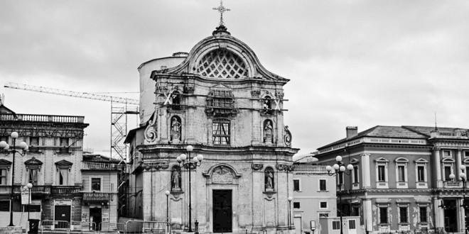 Церковь Святых Душ в Л'Акуила