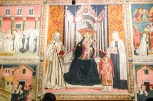 Монастырь в Риме фрески