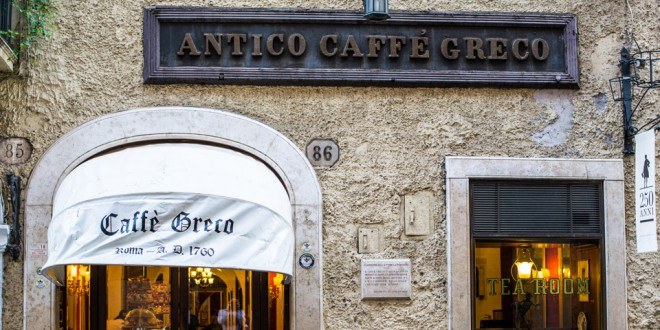 Кафе Греко в Риме