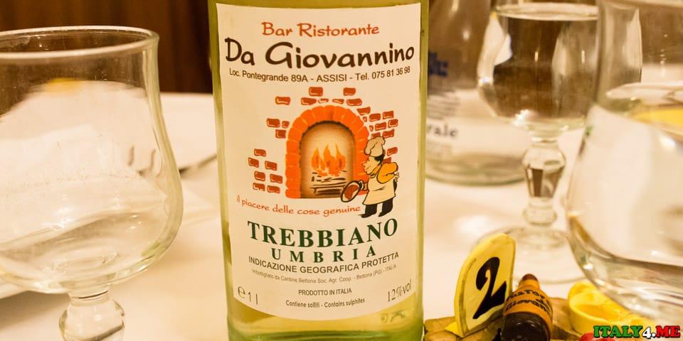 домашнее вино цена по 5 евро за литр в Умбрии