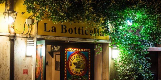 La Botticella ресторан в Риме