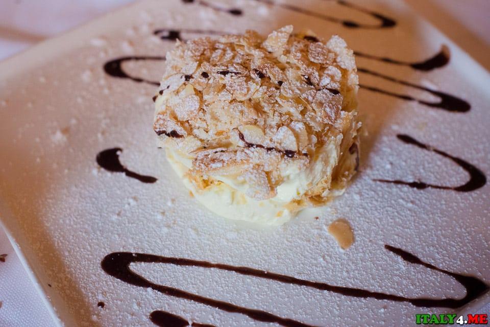 Рассыпной тортик миллефолье (Sbriciolata Millefoglie)