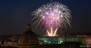 29 июня салют в Риме праздник святых Петра и Павла