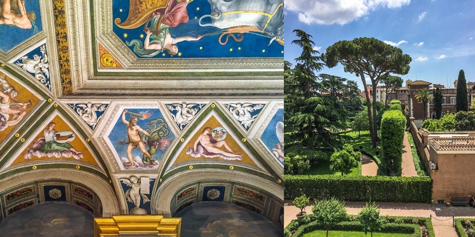 Вилла Фарнезина в Риме