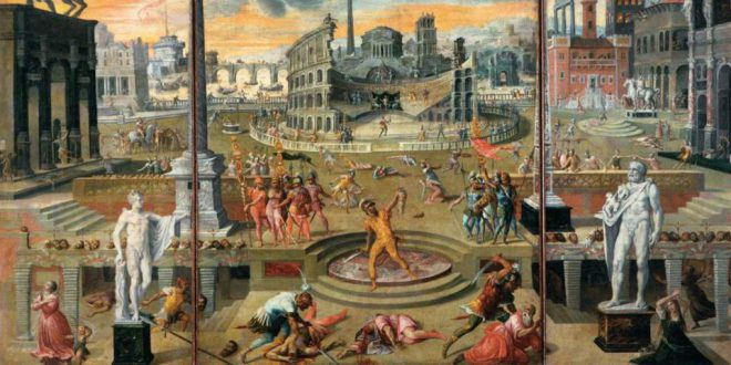 Antoine_Caron_-_The_Massacres_of_the_Triumvirate_-_WGA4279