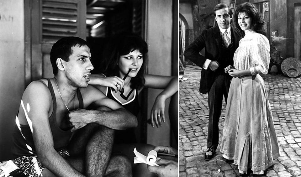 Адриано Челентано и Клаудия Мори познакомились на съемках фильма