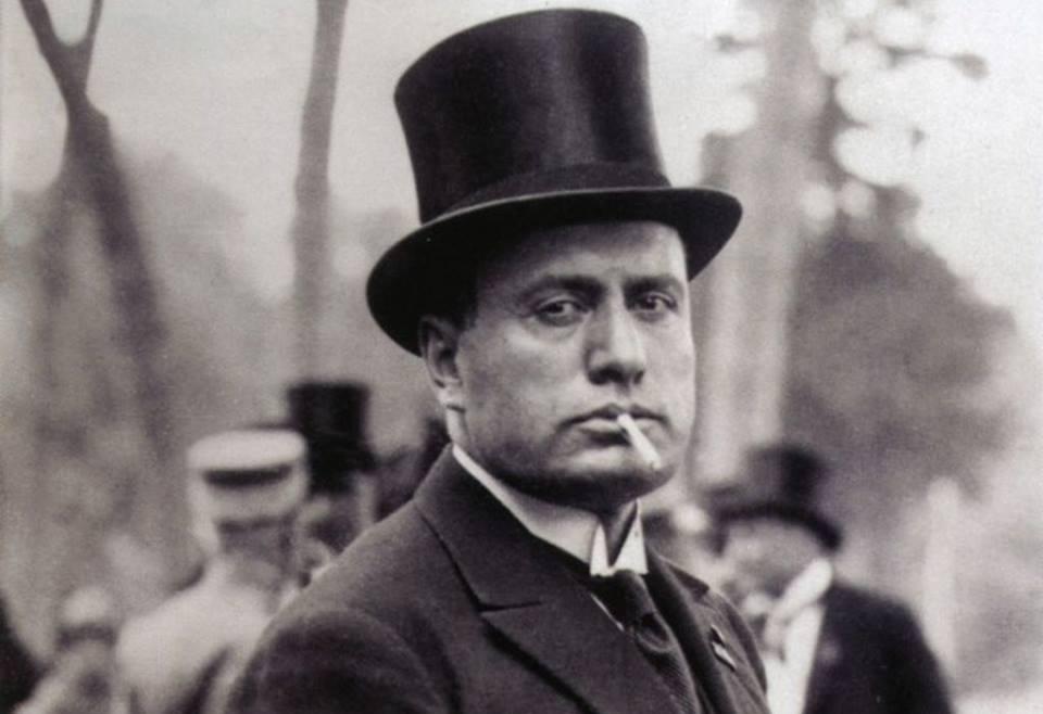 Бенито Муссолини работа