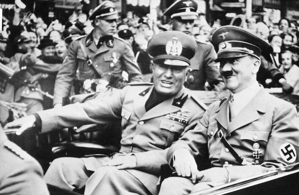 Бенито Муссолини внешняя политика