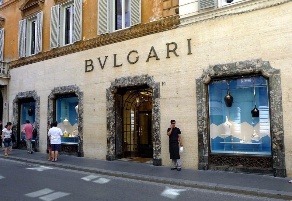 bulgari бутик