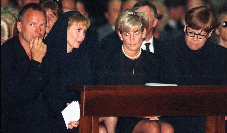 Джанни Версаче похороны