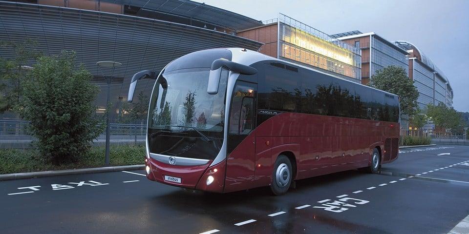 Новая модель автобуса Iveco