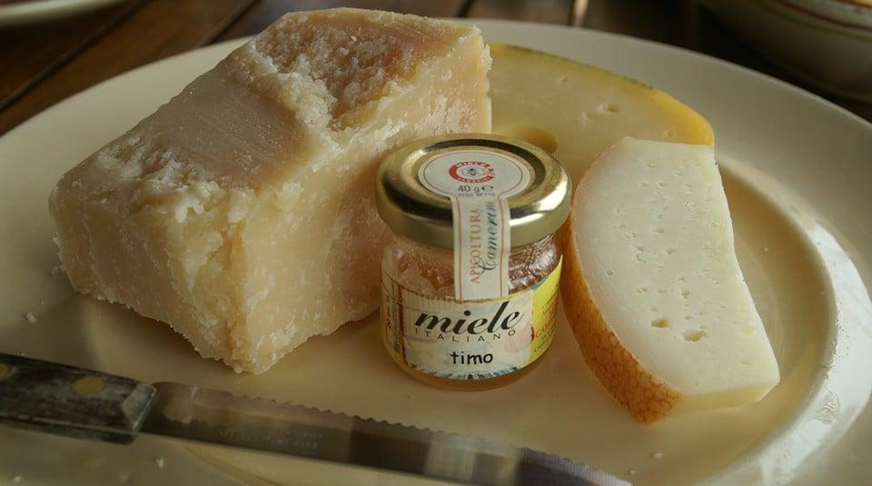 пекорино романо с мёдом