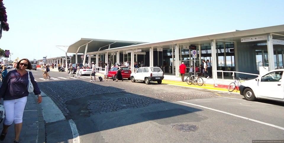 Терминал на острове Лидо для варапетто