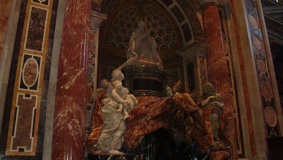 Надгробие папы Александра VII
