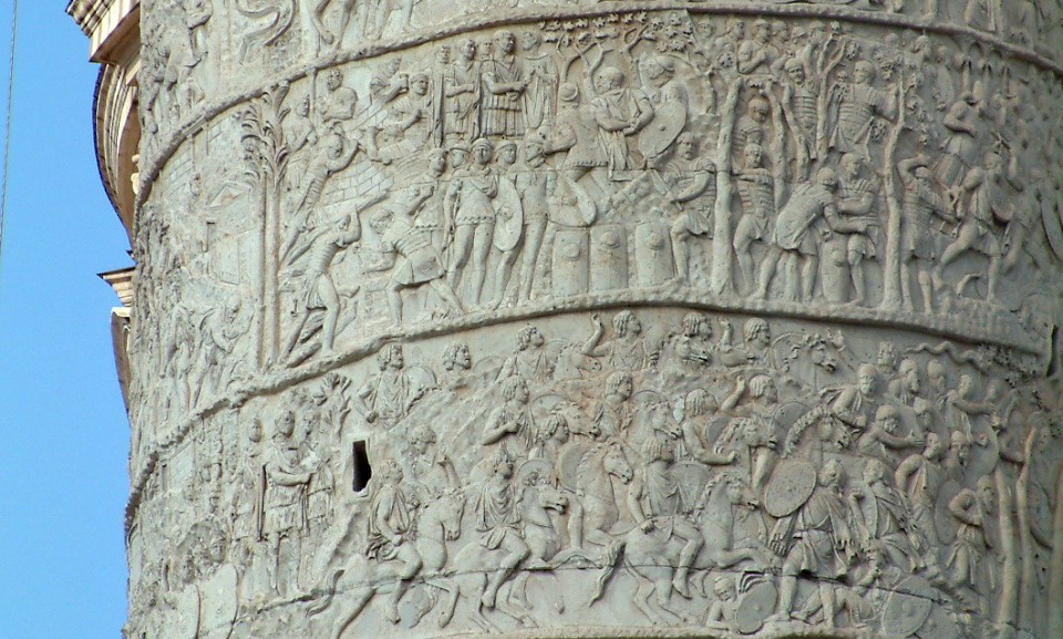 Рельеф на колонне Траяна