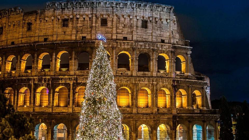 Рождество и новый год в Риме