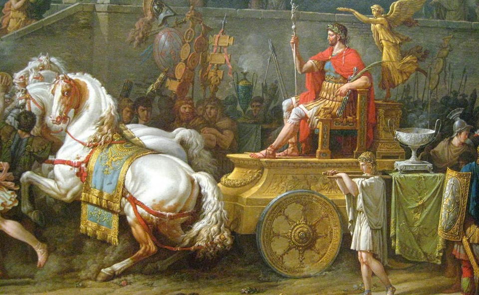 a biography of julius caesar the strong leader of romans that changed the course of greco roman hist Ancient rome and early christianity a military leader named julius caesar joined forces with crassus called greco-roman culture.