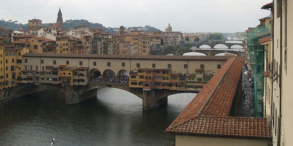 Коридор Вазари во Флоренции