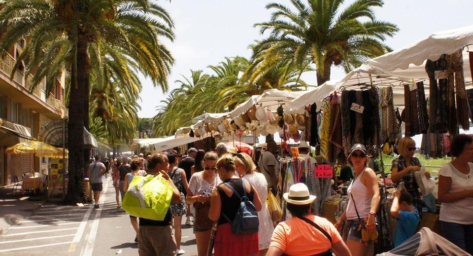 пятничный рынок Вентимильи