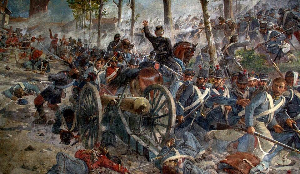битва на реке Волтурно